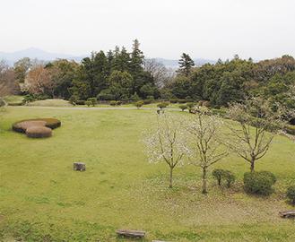 石垣山城 二の丸跡