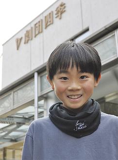四季芸術センター(横浜市)で稽古を積んだ勝田君
