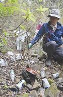 特別保護地区隣 ゴミ散乱