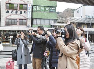 箱根湯本では街歩きを楽しんだ