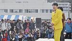 特別出演のダンディー坂野さん「オレンジ色のスーツも持ってます」