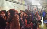 箱根湯本のタクシーは2時間待ち