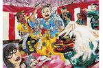 粟生凪咲さんの「寿獅子舞」