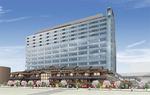 188室のホテルを含む広域交流施設