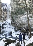 氷の滝出現