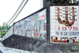 吉浜小学校の壁はフェンスになる予定