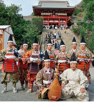 鶴岡八幡宮で「焼亡の舞」