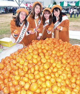 左から南谷さん、小川さん、力石さん、佐藤さん