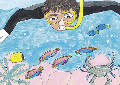 『夏の思い出』絵画コンテスト