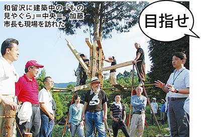 木造で天守再建