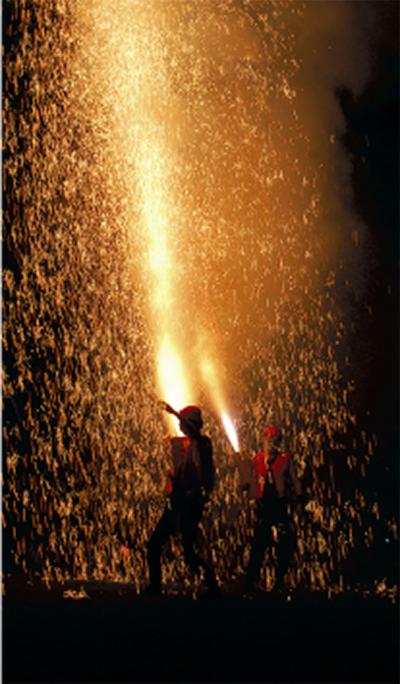 湯河原で花火