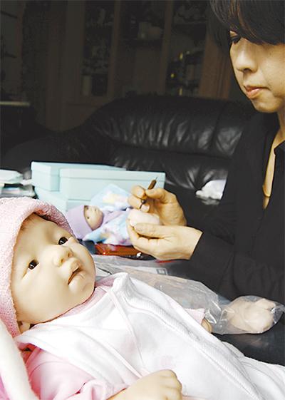 湯河原生まれの赤ちゃん人形