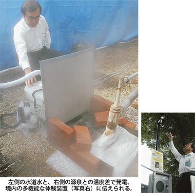 湯けむり♨発電熱海市でスタート
