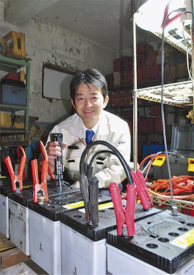 バッテリー延命 県と共同研究