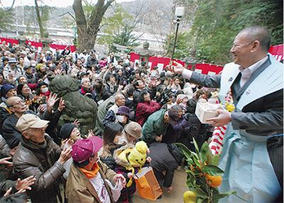 五所神社節分祭