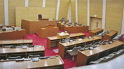 議席数、箱根でも議論