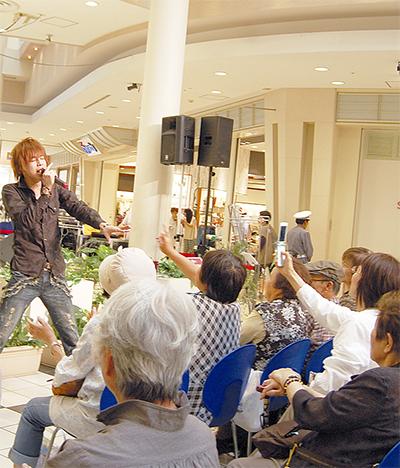 TAKUYA地元初ライブ