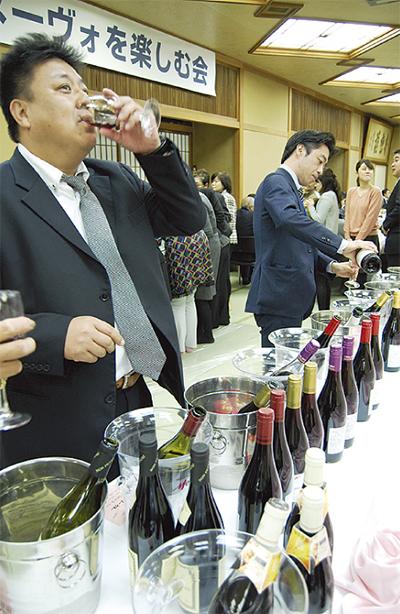 ワイン好きの150人ゴクゴク