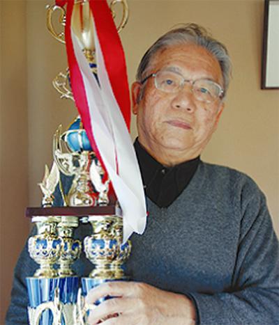 湯河原の鎌田さん詩吟で全国優勝