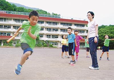 コーチは元アジア大会代表