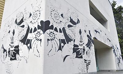 街角アートがやってきた