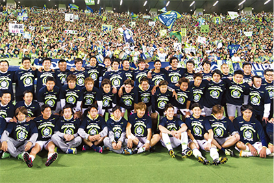 6試合残しJ2初優勝