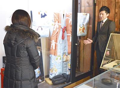 團十郎さん衣装を展示