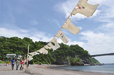 ふわり〜砂浜美術館