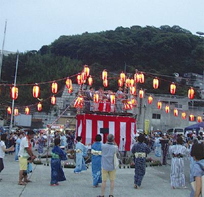 真鶴港盆踊り