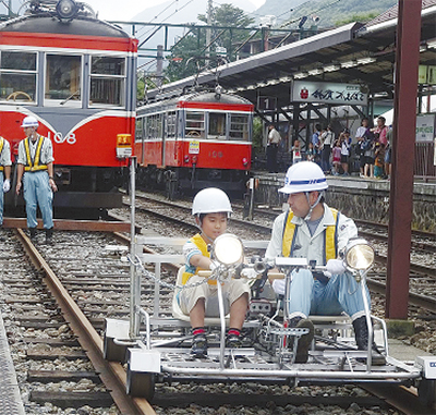 強羅で親子鉄道展