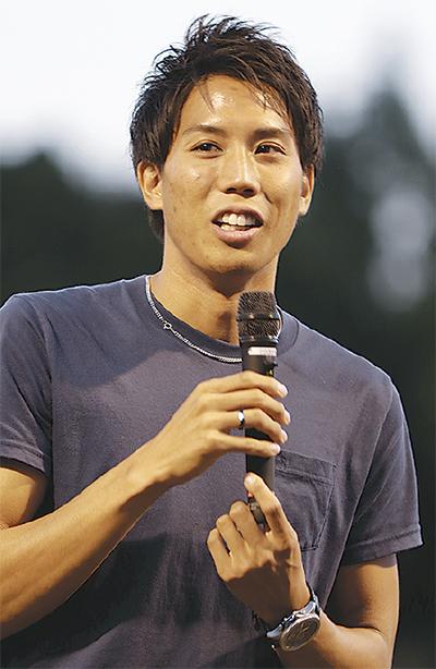 「東京五輪でメダルを」