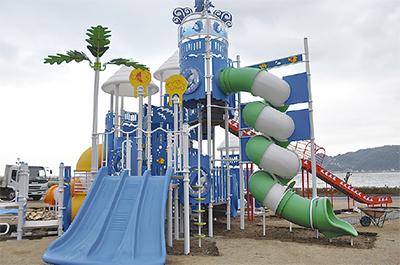 大型遊具「情熱の海」