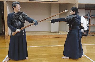 「銃剣道」広めたい真鶴の会社員奮闘