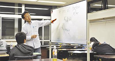 口コミで6年、無料塾 湯本の千葉哲也さんが運営