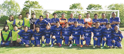 シニアサッカーで全国へ