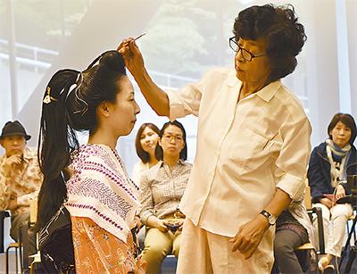 結髪師の仕事