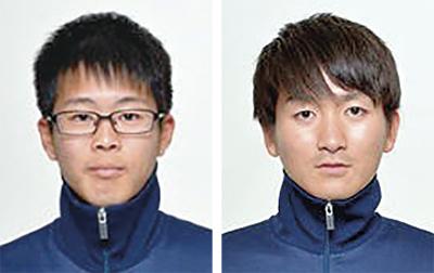 東海大の2選手