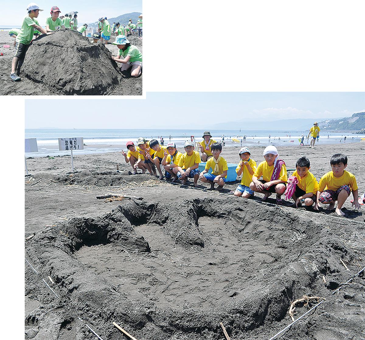 斬新砂アート