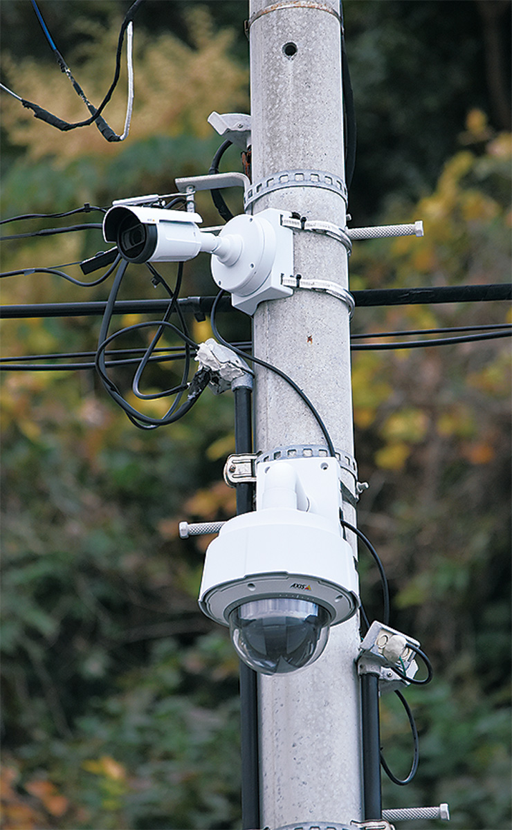 暗視カメラ増設