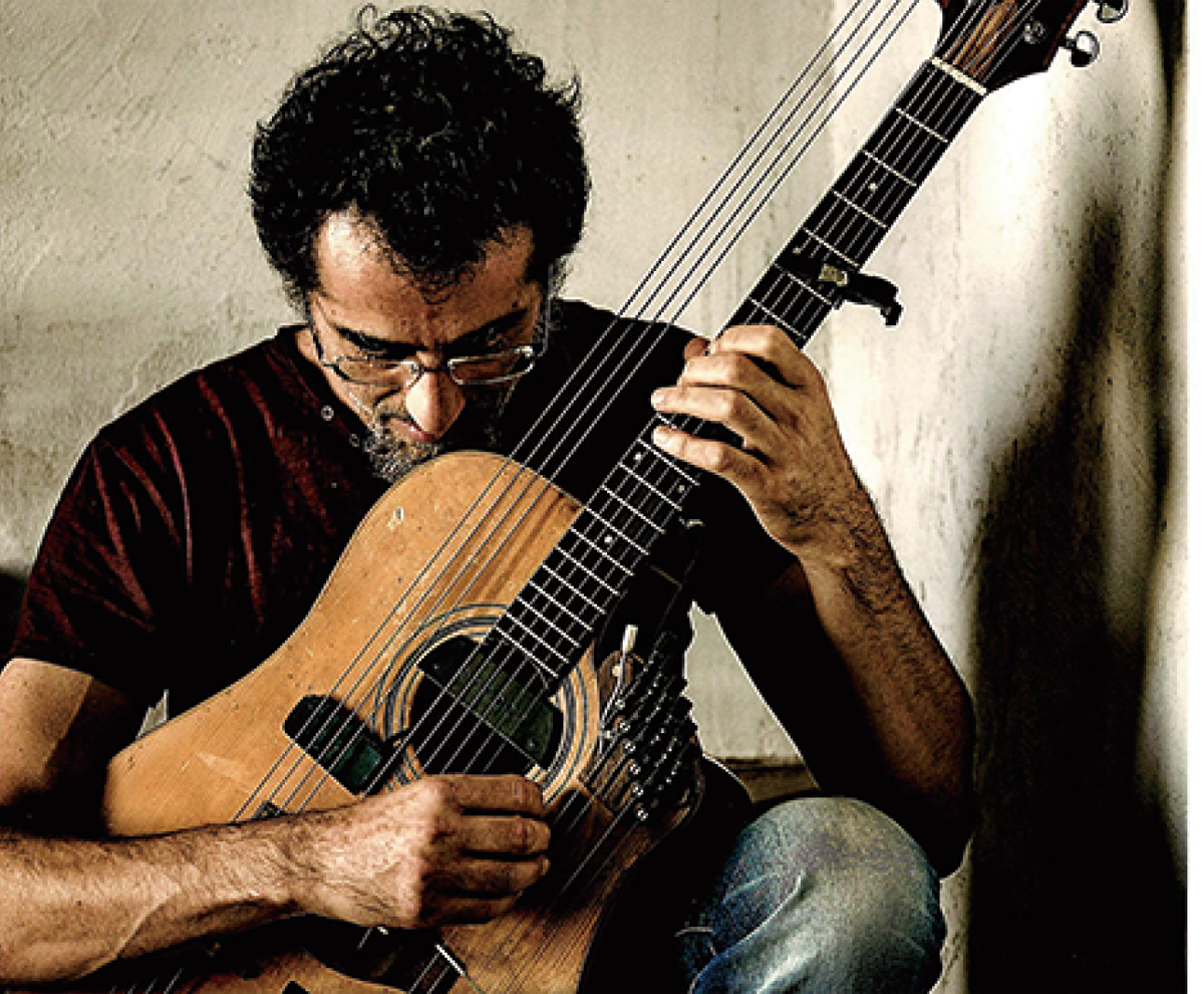 ティボリ市のギタリスト