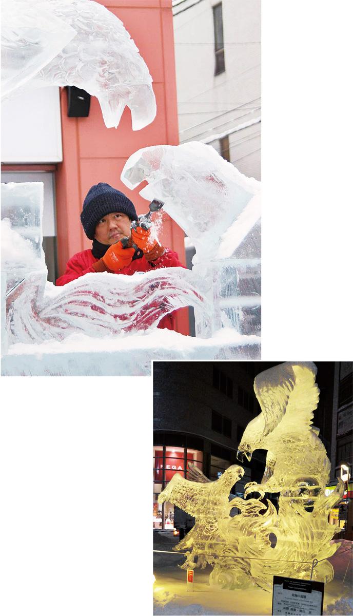 氷彫刻世界大会6位