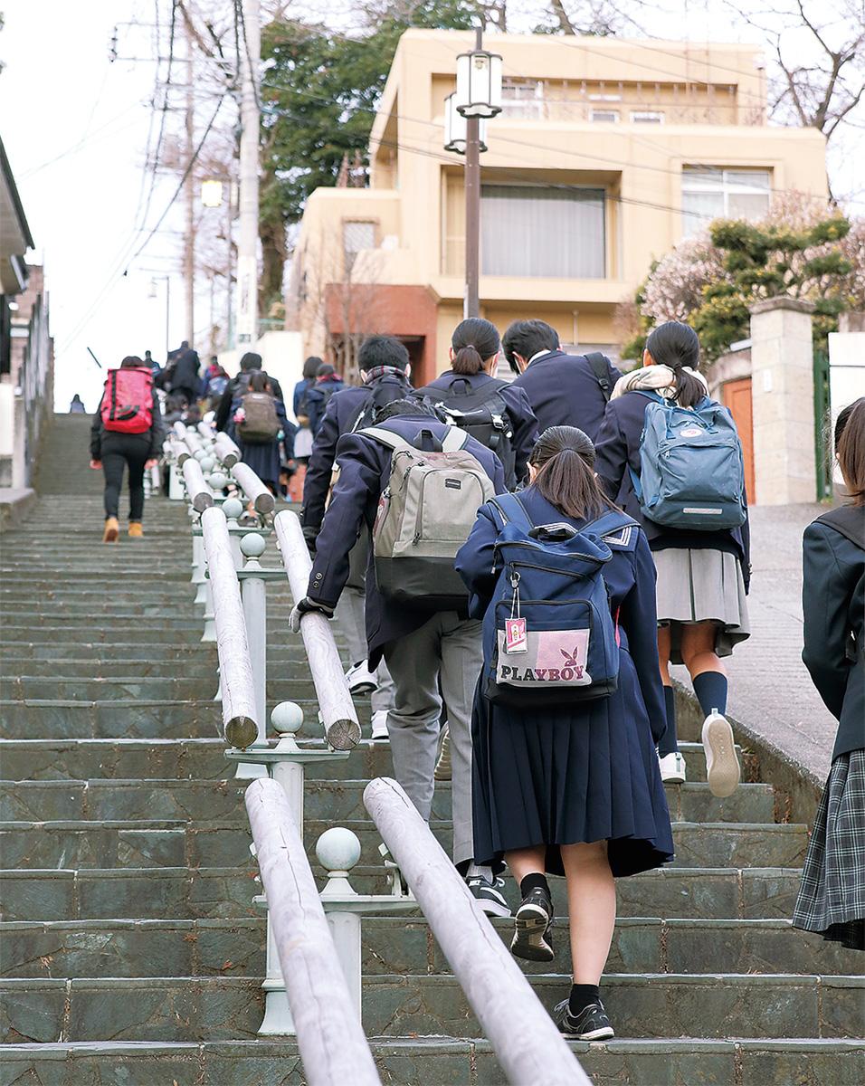 公立高校で入学試験