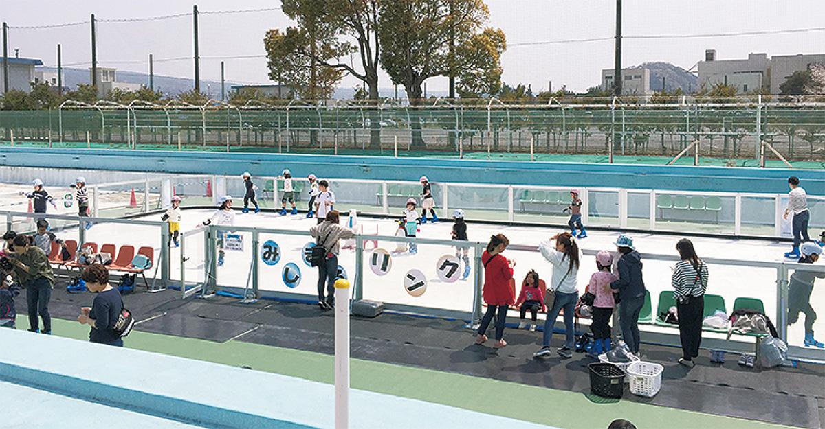 三島市にスケート場