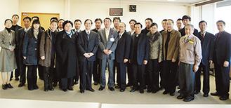 古谷市長と面会した訪問団
