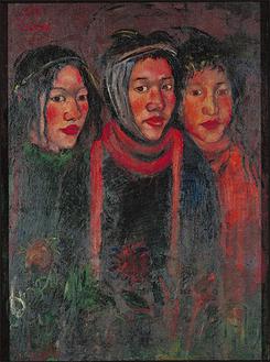 関根正二《三星》1919年 東京国立近代美術館蔵