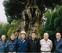 樹齢400年の椎の木を手入れ