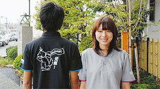 販売されるポロシャツ