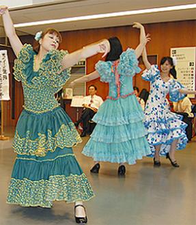 迫力のスペイン舞踊