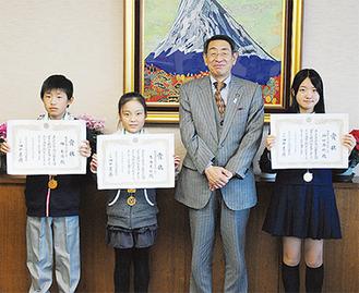 左から林東陽さん、古谷美紅さん、神田奈穂さん