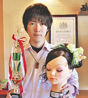 準優勝に輝いた田村さん